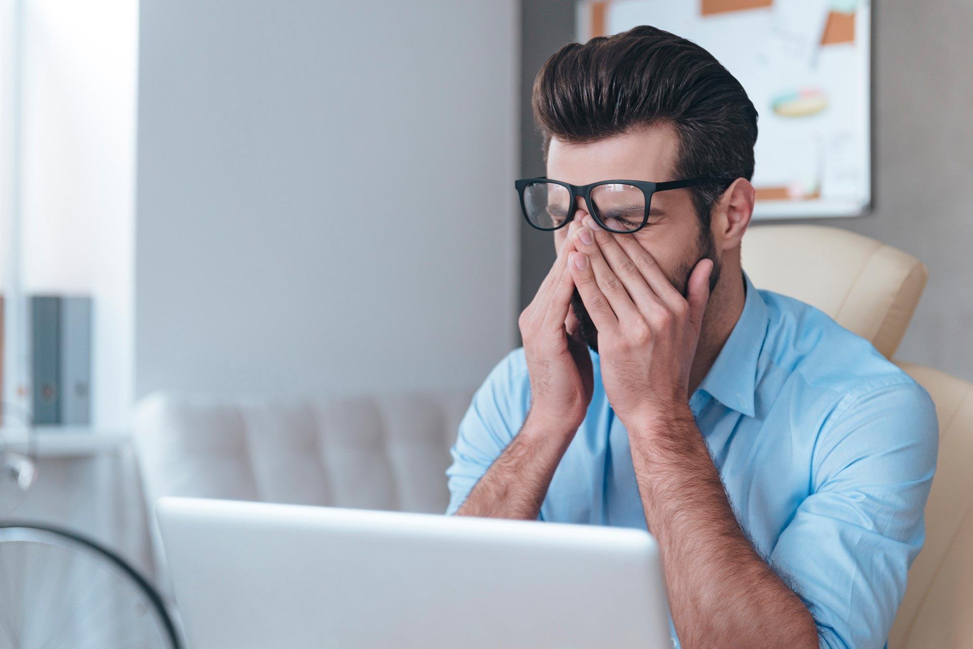 Компьютерный зрительный синдром   Медицинский центр Оптика