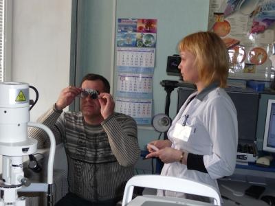 При близорукости аппарат для глазных мышц