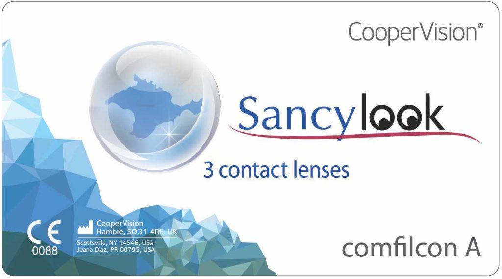 Контактные линзы Sancylook